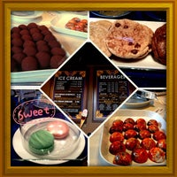 Photo taken at BLU Boy Chocolate Cafe and Cakery by Dee S. on 6/21/2013