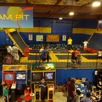 Photo taken at Sky High Sports by Angela O. on 4/29/2013