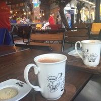 Photo taken at Karikatür Bi Kafe by Gülcan K. on 12/29/2015