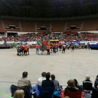 Photo taken at Alliant Energy Center by Christina S. on 4/6/2013
