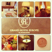 Снимок сделан в Гранд Отель Европа пользователем Alexey S. 2/24/2013