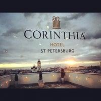 Снимок сделан в Corinthia Hotel St.Petersburg пользователем Alexey S. 11/27/2012