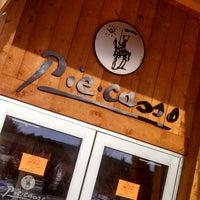 Photo taken at Piecasso Pizzeria & Lounge by Jennifer F. on 5/3/2014