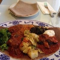 Photo taken at Assab Eritrean Restaurant by Lashawnte B. on 10/23/2015