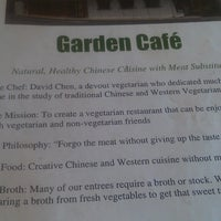 Photo taken at Garden Cafe by Cory S. on 7/6/2013