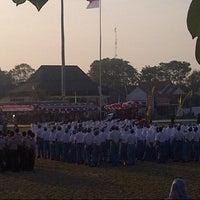 Photo taken at Alun - Alun Demak by M Muhtadin K. on 8/17/2014