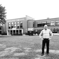Photo taken at Division Avenue High School by Eric C. on 8/3/2014