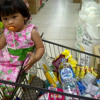 Photo taken at Top 100 Supermarket by Nella Eka S. on 7/26/2013