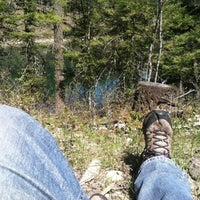 Photo taken at Grizzly Base Camp, Montana Council BSA by Mark R. on 5/3/2013