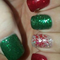 Photo taken at relax nails & spa by Kristina N. on 12/24/2015