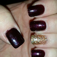 Photo taken at relax nails & spa by Kristina N. on 11/8/2014