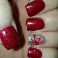 Photo taken at relax nails & spa by Kristina N. on 12/5/2015