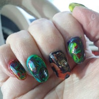 Photo taken at Addicted to Nails by Crystal O. on 6/5/2014