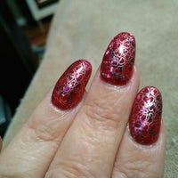 Photo taken at Addicted to Nails by Crystal O. on 2/4/2016