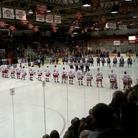 Photo taken at Lynah Rink by Jeff M. on 2/24/2013