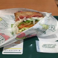 Photo taken at Subway by むらの on 10/24/2015