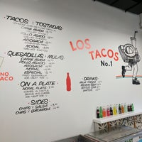 Photo taken at Los Tacos No. 1 by jbrotherlove on 10/8/2017