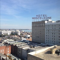 Photo taken at Hotel Monteleone by jbrotherlove on 11/22/2012