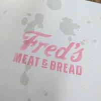 7/13/2017 tarihinde jbrotherloveziyaretçi tarafından Fred's Meat & Bread'de çekilen fotoğraf