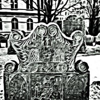 Photo taken at King's Chapel Burying Ground by Jeff P. on 3/1/2013