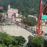 Photo taken at Lakshman Jhula | लक्ष्मण झूला by Manisha A. on 8/14/2017