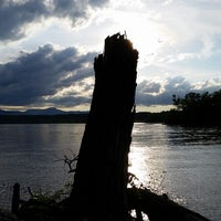 Photo taken at Henry Hudson Waterfront Park by Haleigh H. on 7/10/2014