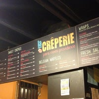 Photo taken at Creperie by Jane K. on 8/10/2013