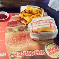 Photo taken at Burger King & Coffe Club by Ula M. on 9/1/2015