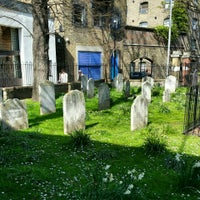 Photo taken at St Mary's Rotherhithe by Matt M. on 4/15/2015