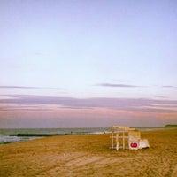 Photo taken at Manasquan Beach by Christina F. on 7/27/2013