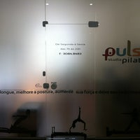 Photo taken at Studio Pulse Pilates by Graziela A. on 4/23/2013