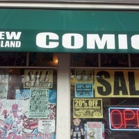 Photo taken at New England Comics by israel b. on 9/19/2012