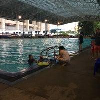 Photo taken at สระว่ายน้ำ การกีฬาแห่งประเทศไทย by Intira B. on 8/3/2016