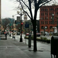 Photo taken at Pioneer Square by ker c. on 2/5/2017
