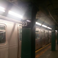 Photo taken at MTA Subway - 23rd St (F/M) by ker c. on 5/27/2017