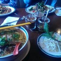 Photo taken at Kaosamai Thai Restaurant & Caterer's by ker c. on 2/24/2014