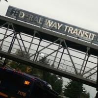 Photo taken at Federal Way Transit Center by ker c. on 11/2/2017