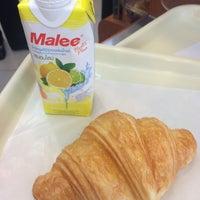 Photo taken at KUDSAN Bakery & Coffee by Ki Ki Y. on 2/10/2015