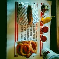 Photo taken at The Habit Burger Grill by Josh G. on 5/27/2014