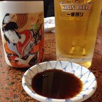 Photo taken at つきじ寿司 by Motonori A. on 12/21/2014