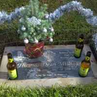 Photo taken at Olivewood Cemetery by Jasmine M. on 12/18/2012