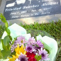 Photo taken at Olivewood Cemetery by Jasmine M. on 5/11/2014