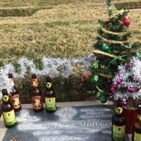 Photo taken at Olivewood Cemetery by Jasmine M. on 1/4/2015