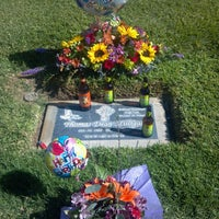 Photo taken at Olivewood Cemetery by Jasmine M. on 10/16/2013