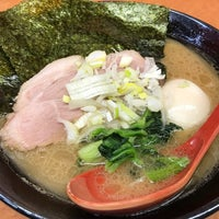 Photo taken at 横浜ラーメン武蔵家 幡ヶ谷店 by かず on 1/13/2017