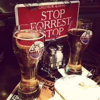 Photo taken at Bubba Gump Shrimp Co. by Meg S. on 12/19/2012