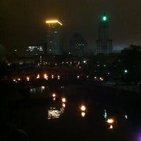 Photo taken at WaterFire Providence - Waterplace Park by David R. on 7/14/2013