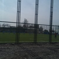 Photo taken at Футбольное поле @ Ташсельмаш by Sherzod M. on 3/5/2013