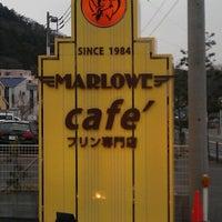 Photo taken at プリンショップ & カフェ マーロウ (MARLOWE) 逗葉新道店 by Hajime N. on 3/3/2013