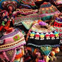 Foto tirada no(a) Pisac Market por Vanessa S. em 3/3/2013
